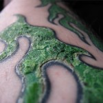 Tattoo Scabbing