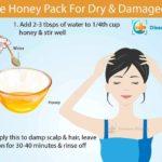 honey for Dry Hair and Damaged Hair