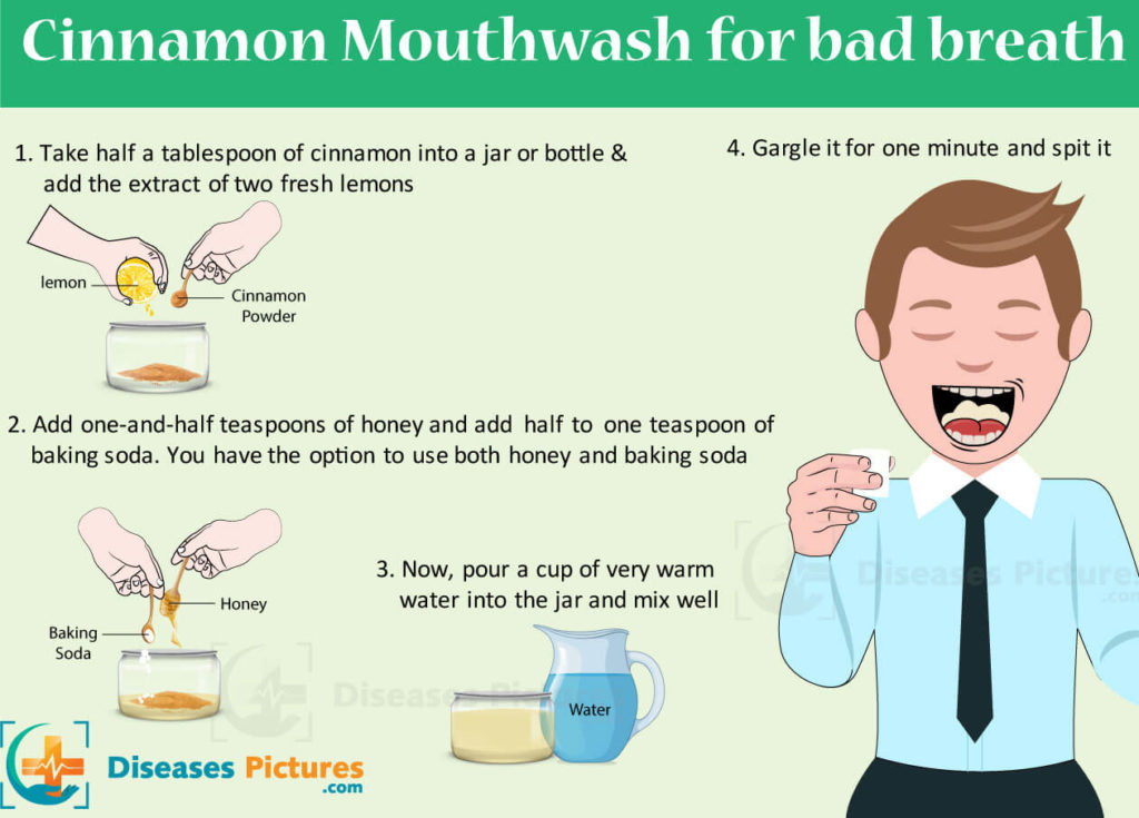 Cinnamon Mouthwash for Bad Breath