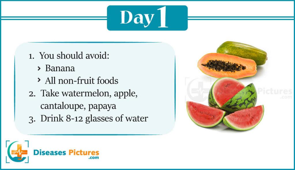 Gm Diet Day 1