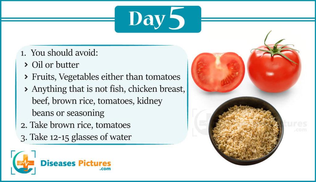 Gm Diet Day 5
